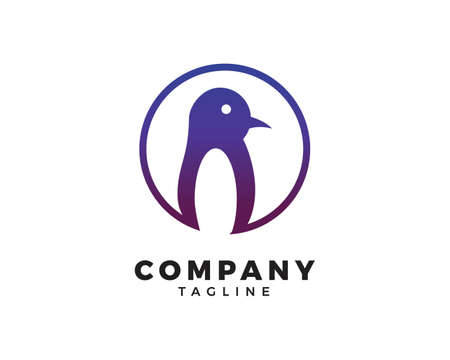 Penguin  design vector template