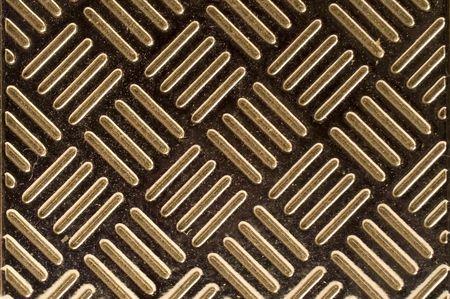 diagonal stripes: Diagonal stripes on metal