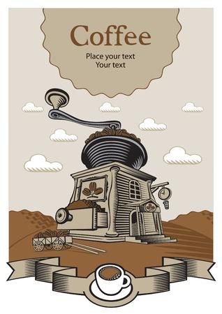 coffee castle  Vector