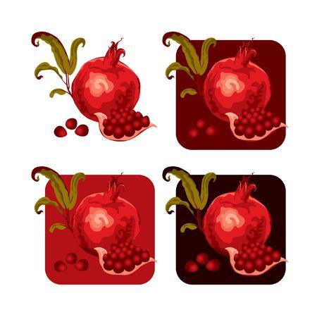 garnet: set garnet  Illustration