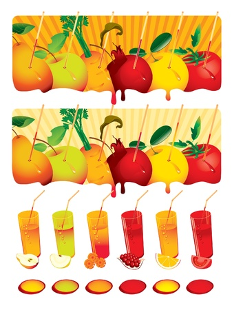 set juice Vector