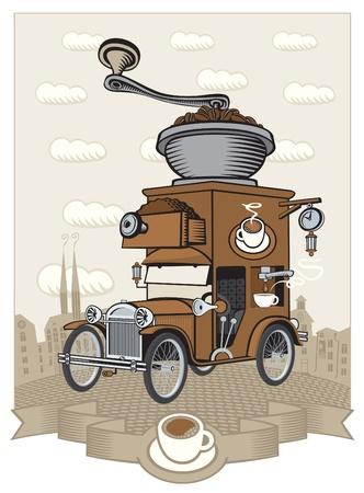 fabricante de automóviles Ilustración de vector
