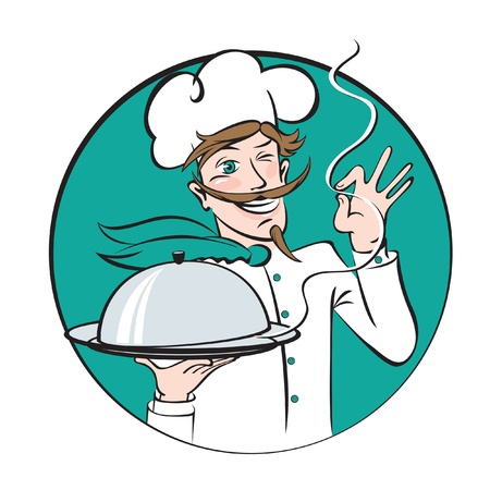 italian cuisine: winking chef