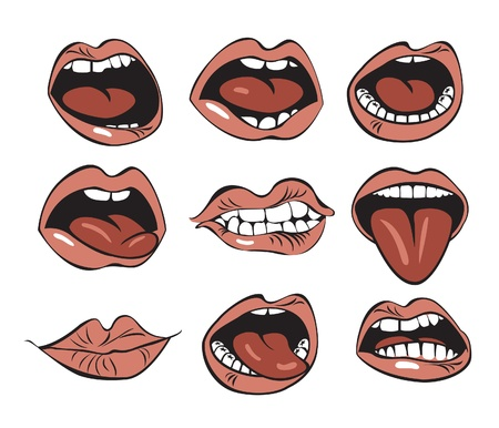 mouth Stock Vector - 11650863