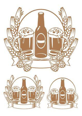 beer bottle ear Stock Vector - 11650911