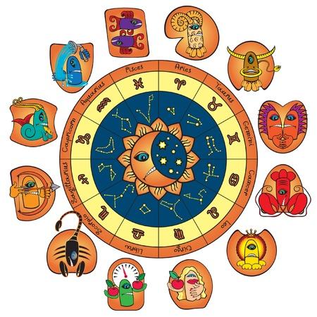 sagitario: círculo del zodíaco y los signos