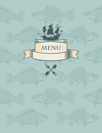 fish menu  Stock Vector - 11650979