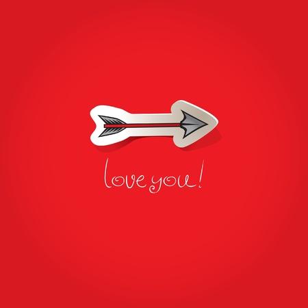 arrow of Love Stock Vector - 11650928