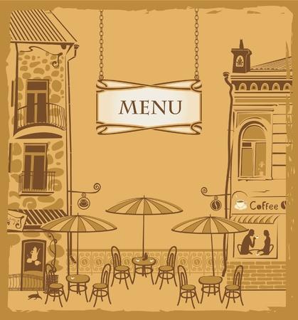 Cubrir con el menú Urban Cafe