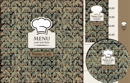 chef s hat: menu with a chef s hat