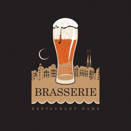 beer pint: noche de pub en el casco antiguo, en el claro de luna