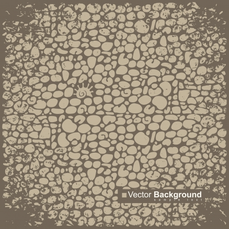 background with old brick wall  Vector