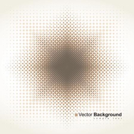 background of dots beige Vector