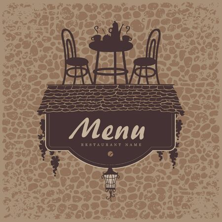 bar chair: menu with a roof grapes and restaurant furniture