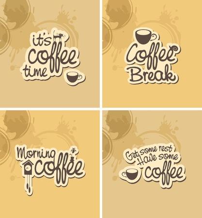 breaks: Cuatro bandera para coffee breaks