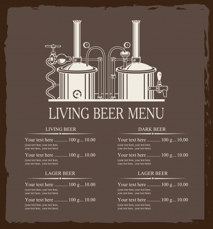 beer brewery with a price Vector