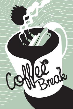 titanic: Naufrage du Titanic dans une tasse de caf�