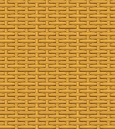 vintage weaving: seamless texture of a wicker basket