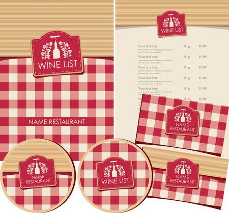 plant stand: set of elements for design wine list restaurant or shop