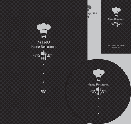 toque: design elements for a restaurant in the black