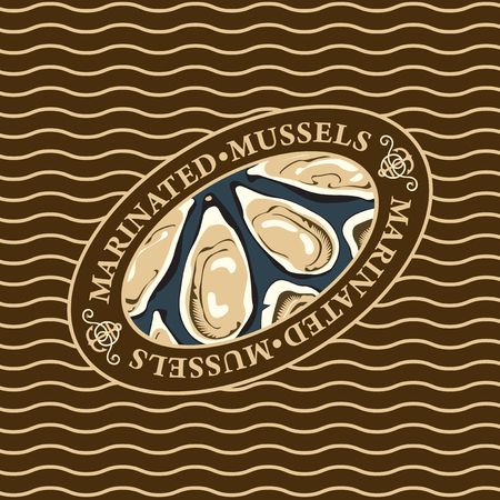 Mussels label.