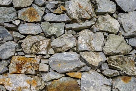 gothic build: Stone wall background and stone Texture Stock Photo