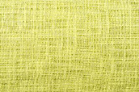 citron color close up linen texture background