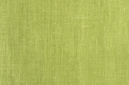 green close up linen texture background photo
