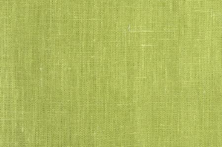 linens: green close up linen texture background
