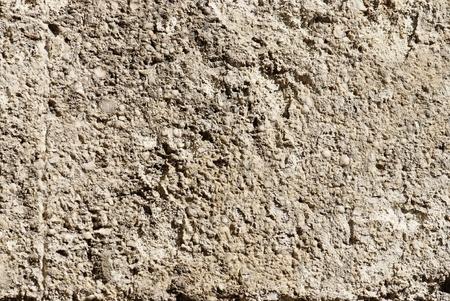 coquina: old damaged coquina wall background