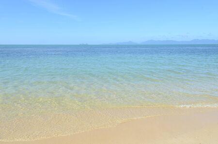 'koh samui': morning sea landscape, island Koh Samui