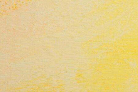 close up painted in shades of yellow wall
