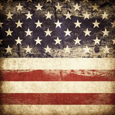 Grunge american patriotic theme background. photo