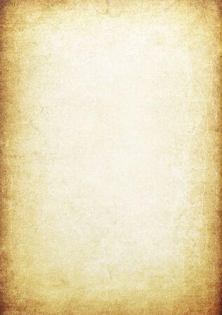 textured paper: Grunge vintage manuscript background  Stock Photo