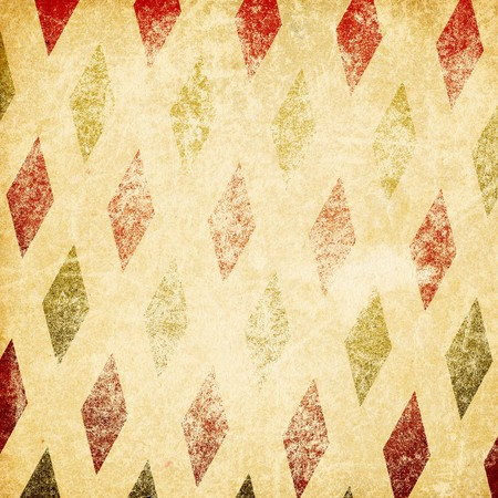 funfair: Vintage retro circus background. Isolated on white.