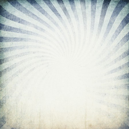 Retro blue sunburst background. Stock Photo - 7095192