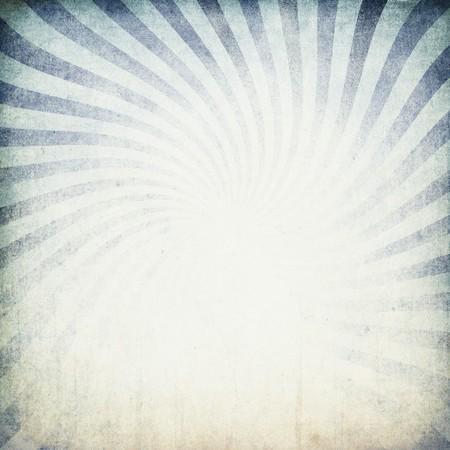 Retro blue sunburst background. Stock Photo - 7095192