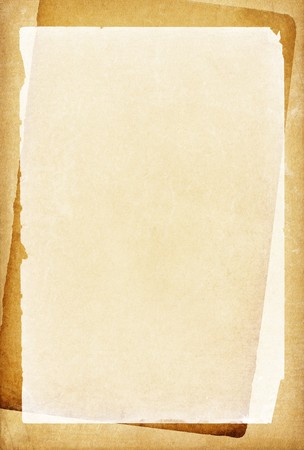 Vintage papers with blank place for text. Stock Photo - 7095207