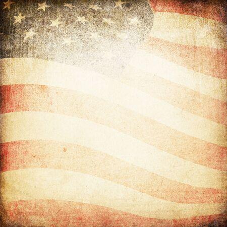 american flags: Fondo de tema de bandera de Estados Unidos y la textura