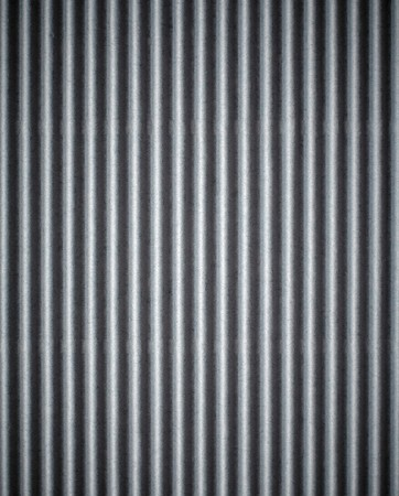 profiled:  Gray corrugated cardboard texture background