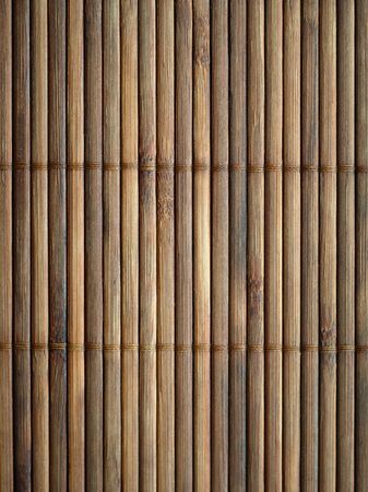 bamboo mat: Bamboo mat surface background. Closeup.