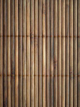 bamboo background: Bamboo mat surface background. Closeup.