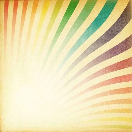siebziger jahre: Aufstieg retro Bild old Paper texturierte diagonale Ausrichtung.