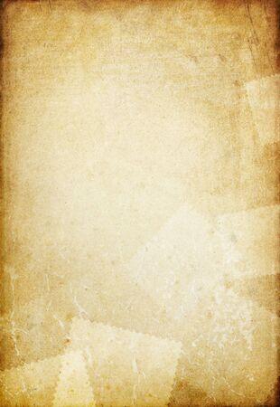 rękopis: Archiwalne starych papieru tÅ'a z miejsca dla tekstu.