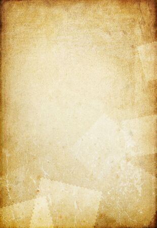 Vintage old paper background with space for text. photo