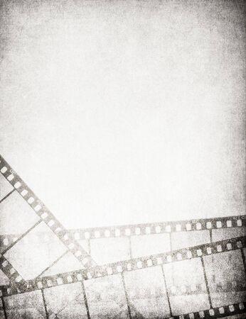 cinema old: Grande annata filmine fondo - con spazio per il testo e immagine.