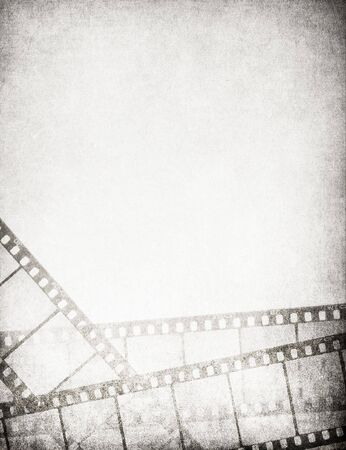 Great vintage filmstrips background - with space for your text and image. photo