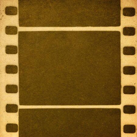 Retro film image. Imitates the one-color print on old paper. photo