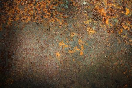 cobre: Viejo corro�dos fondo metal