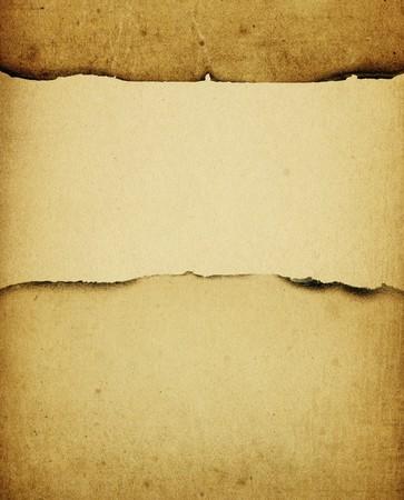 papel quemado: Vintage quemaron fondo de papel, con espacio para texto.